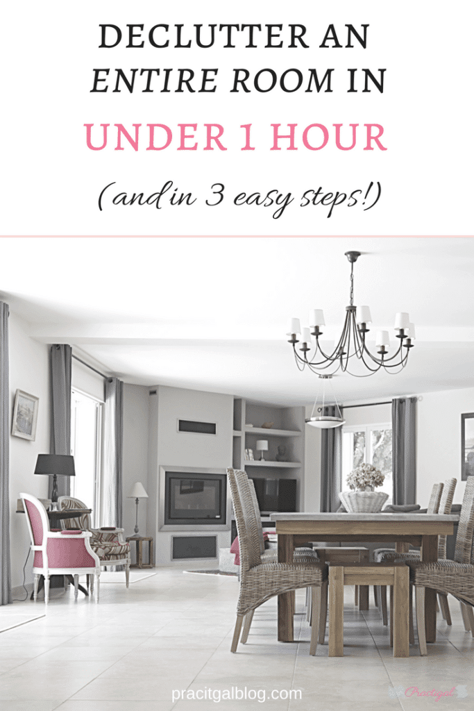 Declutter an entire room in 1 hour in 3 easy steps - How to declutter your bedroom fast ...