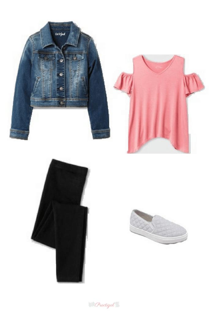 Stylish 2019 Back To School Girls Capsule Wardrobe Practigal Blog